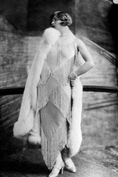 1924 Paris: Gilda Gray, a voluptuous blonde dancer, was the creator of 'the Shimmy.'  She was born Marianna Michalska in Kracow, Poland.