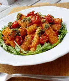 Pasta med tomatsås – dejtmiddag på 20 minuter! – Petra Cavini