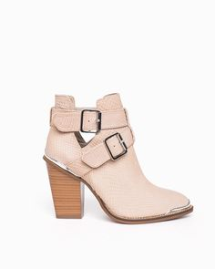 Milly (Taupe Snake) - ShoeMint//