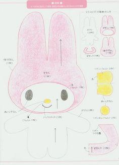 Molde My Melody [Hello Kitty, Sanrio]