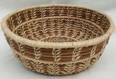 pine needle basket