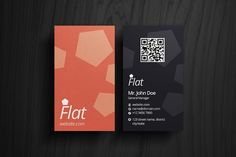 Check out Flat Business Card by rafael_olivra on Creative Market