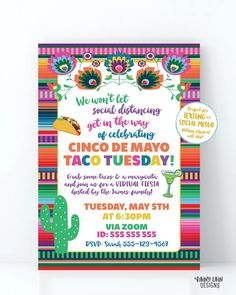Nacho Average Birthday Fiesta Invitation, Virtual Fiesta, Birthday by Mail, Taco Bout Quarantine Party Stay at Home Party, Social Distancing Printable Birthday Invitations, Personalized Invitations, Digital Invitations, Baby Shower Invitations, Engagement Party Invitations, Graduation Invitations, Fiesta Party, Taco Party, 30th Birthday