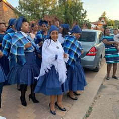 The Malebye Wedding Setswana Traditional Dresses, African Traditional Wear, African Traditional Wedding Dress, Traditional Weddings, African Fashion Dresses, African Dress, African Print Wedding Dress, Wedding Bridesmaids, Bridesmaid Dresses