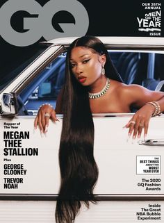 Megan Thee Stallion Covers GQ Men of the Year 2020 Issue!1966 Magazine Gq Usa, Lab, Star Wars, Gq Magazine, Magazine Covers, Magazine Design, Gq Fashion, George Clooney, Clothes Horse