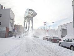 Photo from Williamsburg with Empire Strikes Back goodness...