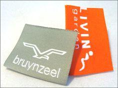 bruynzeel - kwaliteit geweven label