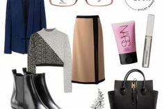 KENZO GLASSES: LADY AT WORK