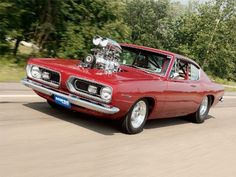 Throughout the early stages of the Jaguar XK-E, the lorry was supposedly planned to be marketed as a grand tourer. Plymouth Barracuda, New Sports Cars, Sport Cars, Race Cars, Mopar, Hot Rods, Best Classic Cars, American Muscle Cars, American Auto