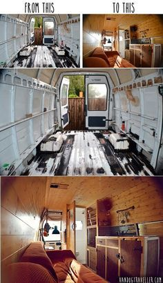 DIY Camper: From Rusty Van To Cosy Home