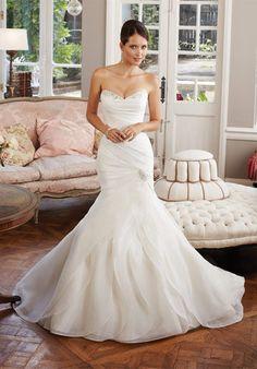 Sophia Tolli 'Gorgeous Wedding Dress' size 6 new wedding dress 5739 - Nearly Newlywed