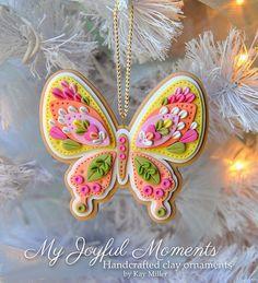 My Joyful Moments: Butterflies and Little Houses!