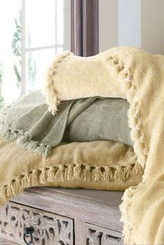 Sumptuous Chenille Blanket from Soft Surroundings