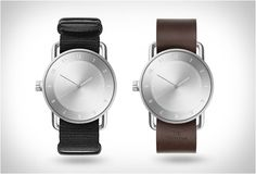 TID NO2 WATCH  The TID No.2 continues on the design trajectory set out by No.1 with refined materials and details. No.2 features monochromatic solid brushed steel case, face and hands. Boasting domed sapphire glass and Swiss made movement, No.2 is an exquisite yet robust watch that goes superbly with any of the TID Wristbands.