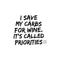 Tag a friend with the same priorities.  #winespo