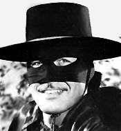 Zorro...Who was that masked man?
