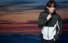 Kim Woo Bin, Raincoat, Bomber Jacket, Athletic, Jackets, Fashion, Rain Gear, Down Jackets, Moda