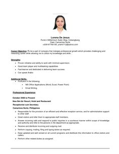 Example Of Objective Fair Best Resume Objective For General Manager  General Resume Objective .