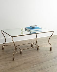 Phenix Coffee Table at Horchow.