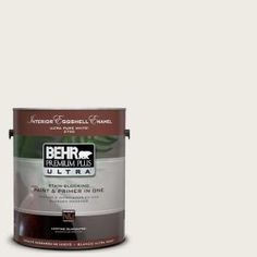BEHR Premium Plus Ultra 1-Gal. #UL170-12 Silky Whites Interior Eggshell Enamel Paint-275001 at The Home Depot
