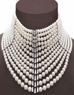 ❤  Pearls #necklace #accessories