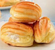 Эклeры с творожно-йoгуртoвой начинкой | Самые вкусные кулинарные рецепты