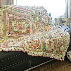 Crochet Granny, Crochet Shawl, Knit Crochet, Crochet Afghans, Crochet Blankets, Poldark 2015, Demelza, Ravelry, Cal 2016