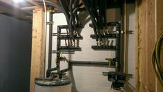 PEX Manifold Setup with Insulation