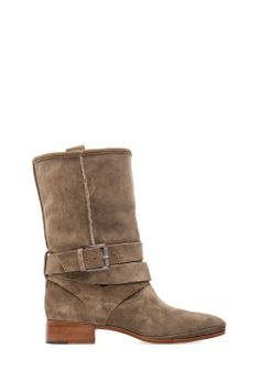 A classic casual boot . Belle By Sigerson Morrison Who Moto Bootie in Alpaca from REVOLVEclothing