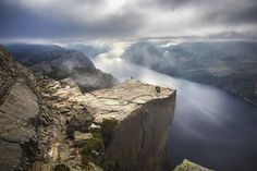 Preikestolen, Norway - Photograph Chasing norwegian sun by Andrew Cawa on 500px