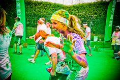 COLOR RUN... definitely doing this! October 27 in Charlotte if anyone wants to join