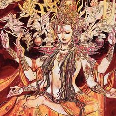 Prints and original paintings by visionary storyteller and mythology artist Abhishek Singh from India. Store has prints from Krishna and originals of Shiva. Goddess Art, Durga Goddess, Indian Gods, Indian Art, Sacred Feminine, Divine Feminine, Hindu Art, Gods And Goddesses, Deities