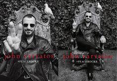 John Varvatos Snags Beatle Ringo Starr for New Fall 14 #PeaceRocks Campaign