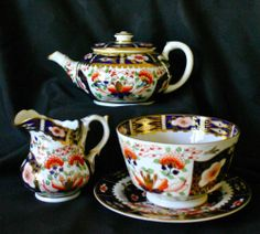 Derby Imari Tea and Dessert Service Stevenson Hancock 1863 66 40 Pieces   eBay