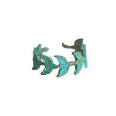 Brass Athena Ring