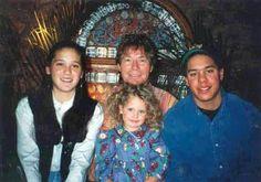 "Happy Fathers Day! (John ""Denver"" Deutschendorf with his children (from left) Anna Kate, Jesse Belle and Zachary Deutschendorf) Unknown date/place/photographer"