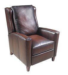 miller-dark-brown-leather-recliner