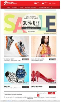 fashion corporate email design examples - Google Search