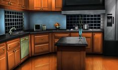 kitchen episode interactive backgrounds anime fantasy scenery places game environment concept stories