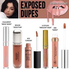 Kylie Jenner lip kit dupe Exposed