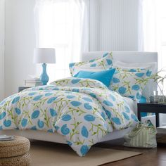 Nantucket Percale Comforter Cover/Duvet Cover and Sham | The Company Store