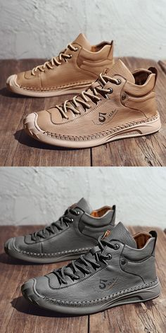 US 32.8 <Click to buy> Prelesty English Style Soft Leather Men's Boots Shoes High Tops Comfortable Good Quality Leather Fashion, Leather Men, Soft Leather, Mens Fashion, Men's Boots, Shoe Boots, Casual Boots, Casual Outfits, High Ankle Boots