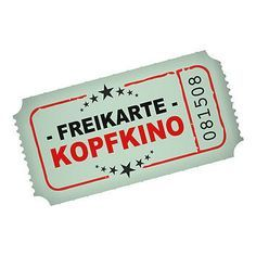 - free ticket -kopfkino- more Best Picture For entertaintment funny For Your Taste You are looking - The Words, Cool Words, Whatever Forever, German Quotes, Logo Nasa, Word 2, Love Life, Texts, Haha