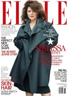 Melissa McCarthy on the cover of Elle. WERK!