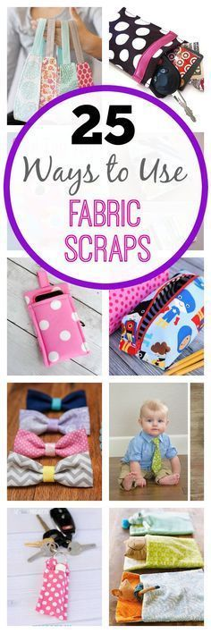 Tweet Pin It If you��re like me you probably have a lot of little fabric scraps of various sizes left over from previous sewing projects. They pile up in your closet or craft room and you love them but you aren��t quite sure what to do with them. I��ve go