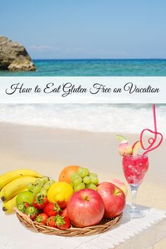Are you #glutenfree and wonder how you can possibly eat on vacation? Here are some tried and true travel tips from me (a gal with #celiacdisease ) to you.  How to Eat Gluten Free on Vacation. http://naturallivingmamma.com/2014/06/26/how-to-eat-gluten-free-on-vacation/?utm_campaign=coschedule&utm_source=pinterest&utm_medium=Amanda%20%40Natural%20Living%20Mamma%20(Best%20of%20Natural%20Living%20Mamma)&utm_content=How%20To%20Eat%20Gluten%20Free%20On%20Vacation