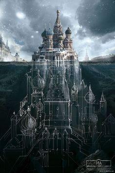 12 фотографий архитектуры Москвы абсолютно фантастической кампании