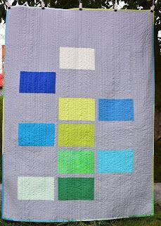 Patchwork Atelier Vave: Modrozelená