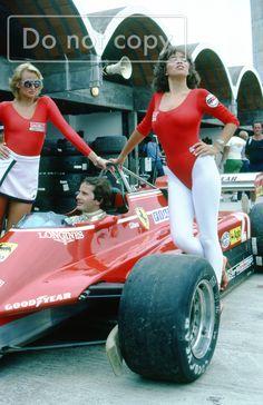 // Joseph Gilles Henri Villeneuve (CAN) (Scuderia Ferrari), Ferrari - Ferrari Tipo 021 (t/c) (RET) 1982 Brazilian Grand Prix, Jacarepaguá Circuit // Formula 1 Girls, Formula 1 Car, Grid Girls, James Hunt, Long Beach, Gp F1, Brazilian Grand Prix, Peugeot, Mario Andretti