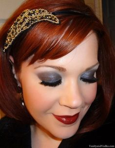 1920's Inspired Makeup- Louise Brooks